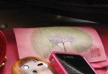 秋田蕗のティッシュケース