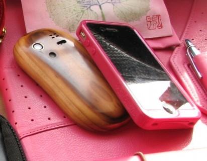 iPhoneとドコモの携帯