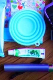 歯磨きセット(シリコンコップ・歯磨き粉・歯ブラシ)
