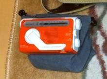 ソニー製非常用ラジオ