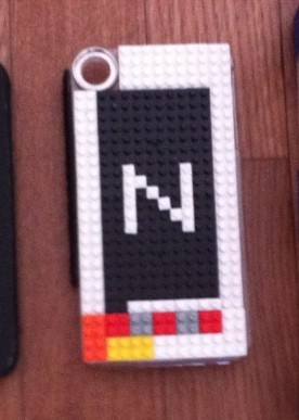 自作nanoブロックiPhoneケース